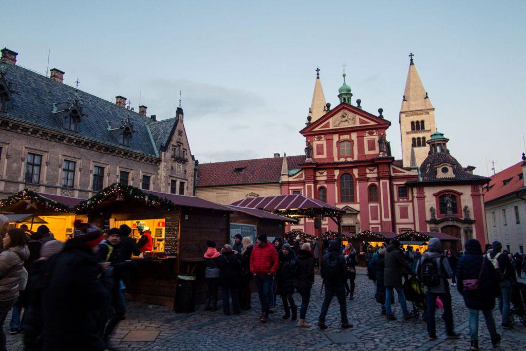Prague Czech Republic Castle Christmas Market