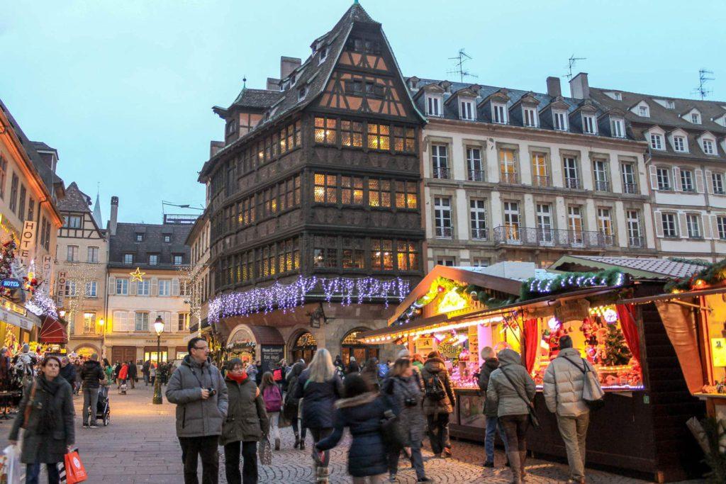 Strasbourg France Christmas Market