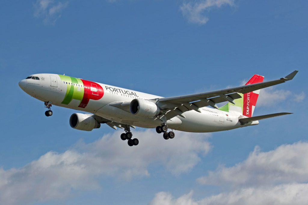 TAP Air Portugal Airplane