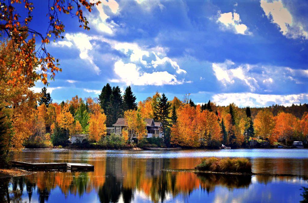 Autumn landscape Canada