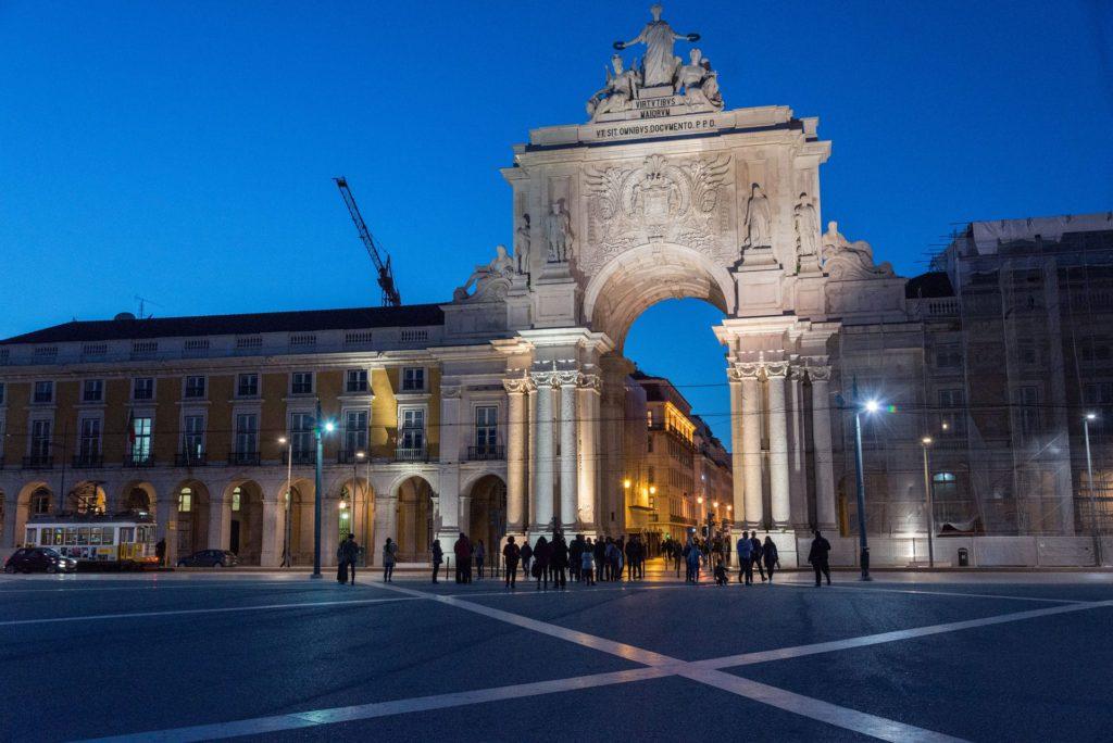 Praça do Comércio Lisbon Portugal