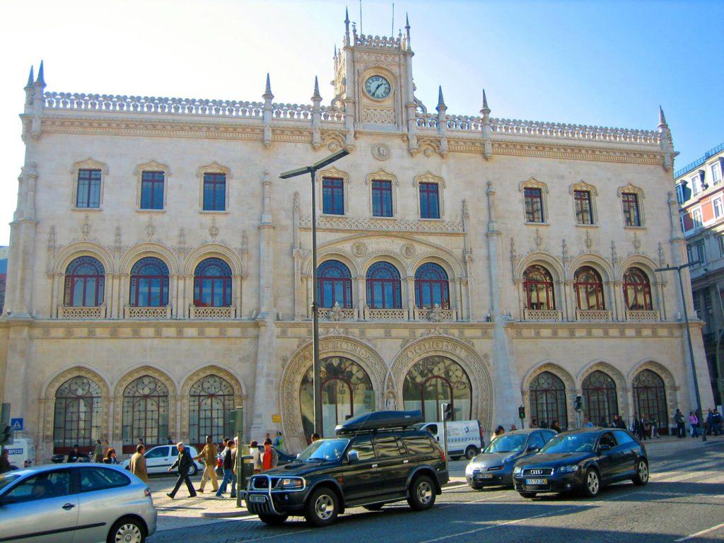 Rossio Lissabon, Portugal