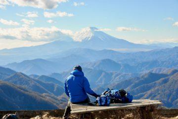 Hking Mount Fuji Japan