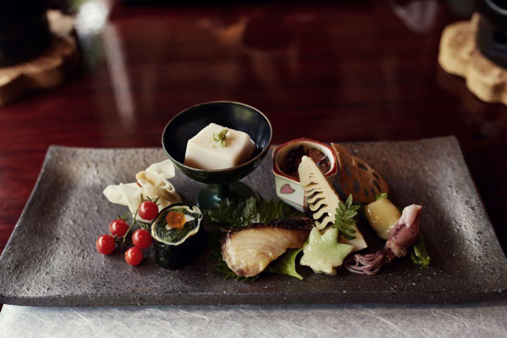 Kaiseki dinner course Japan
