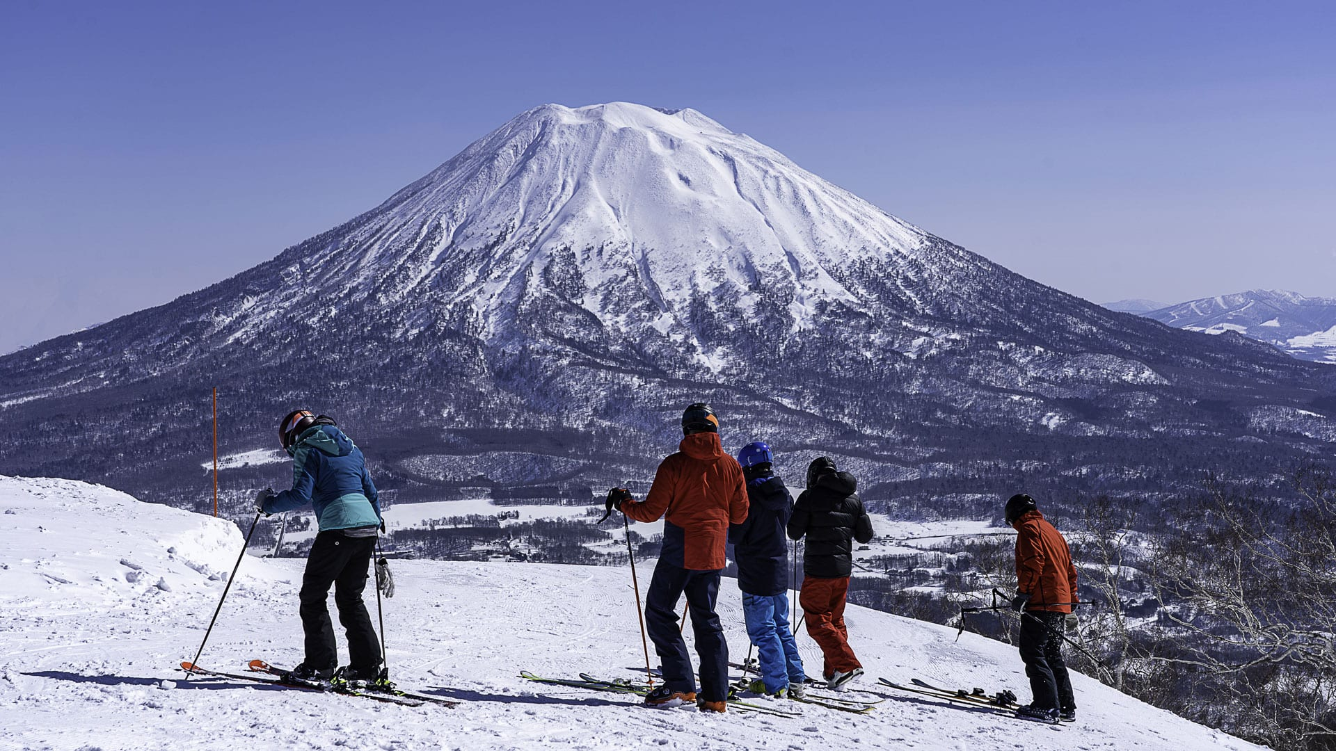 Ski Niseko Yotei mountain Japan