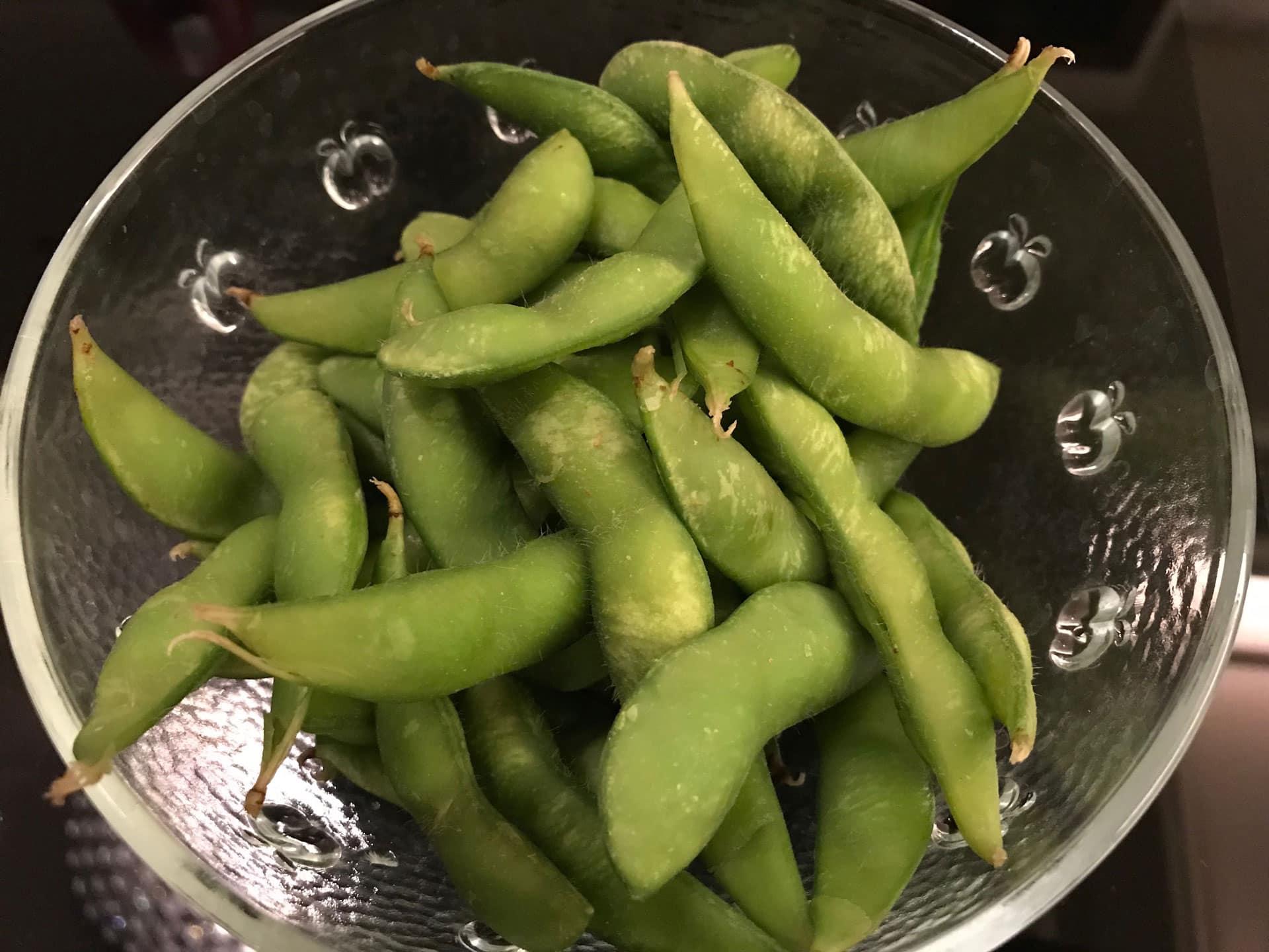 Edamame healthy Japanese food