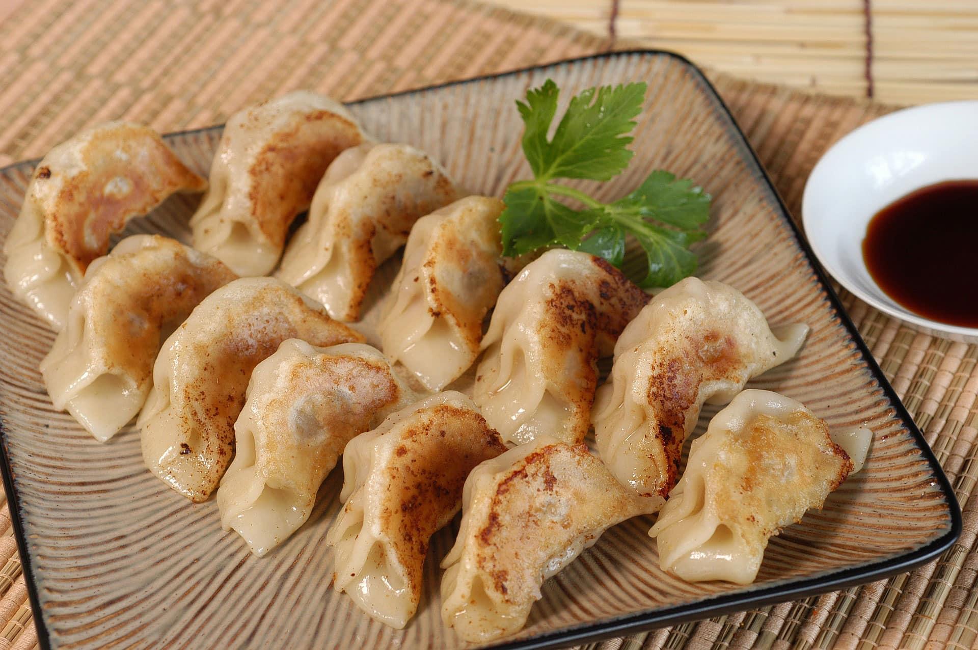 Gyoza healthy Japanese food