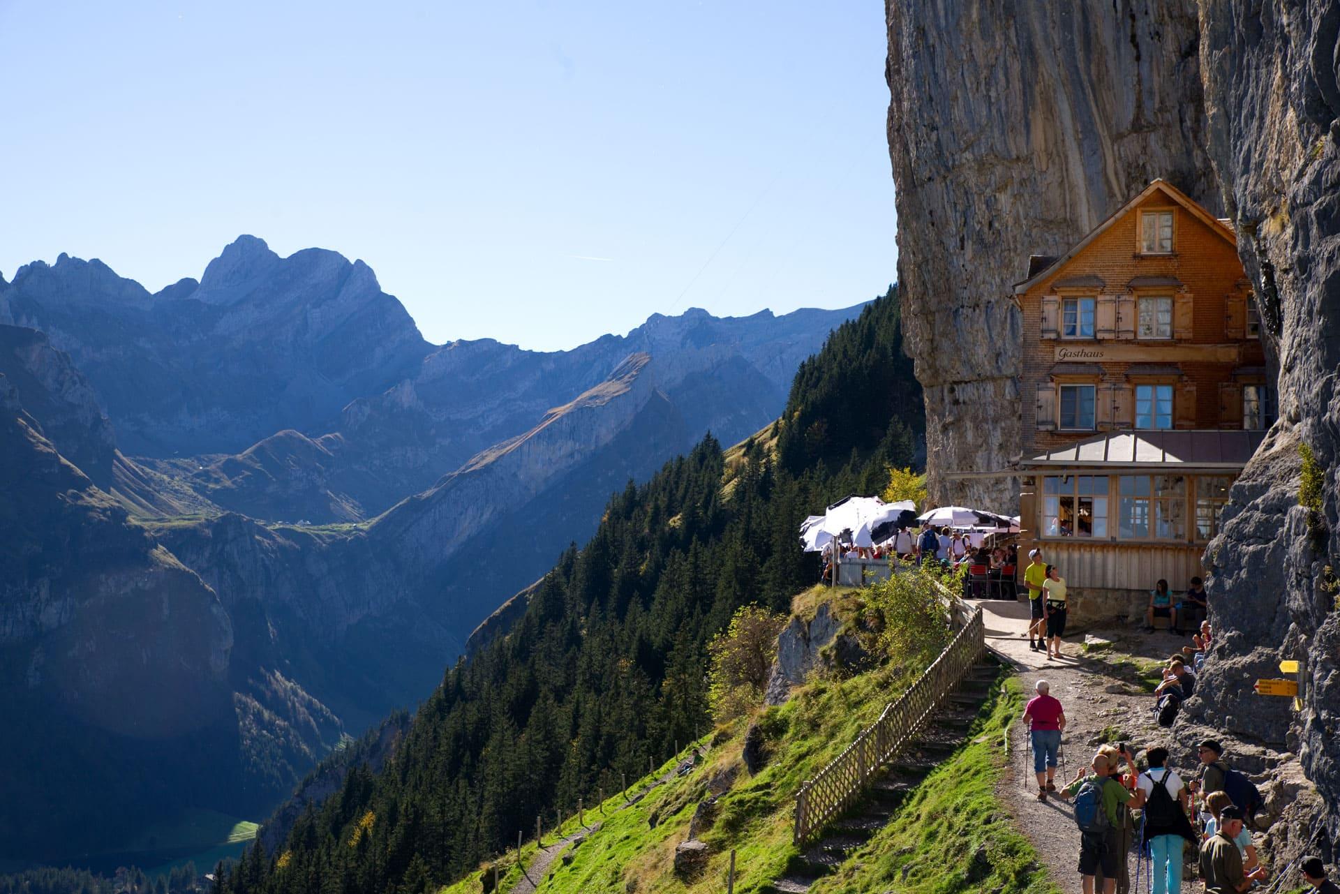 Berggasthaus Aescher Appenzell Switzerland