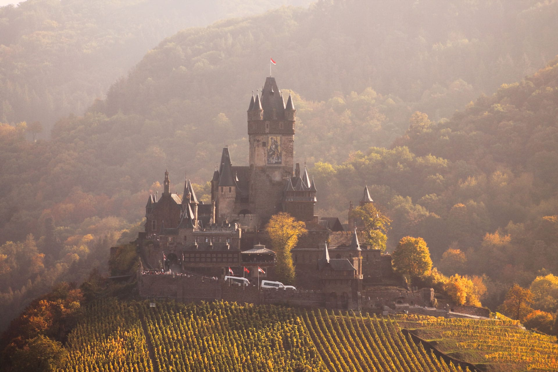 Cochem castle Germany