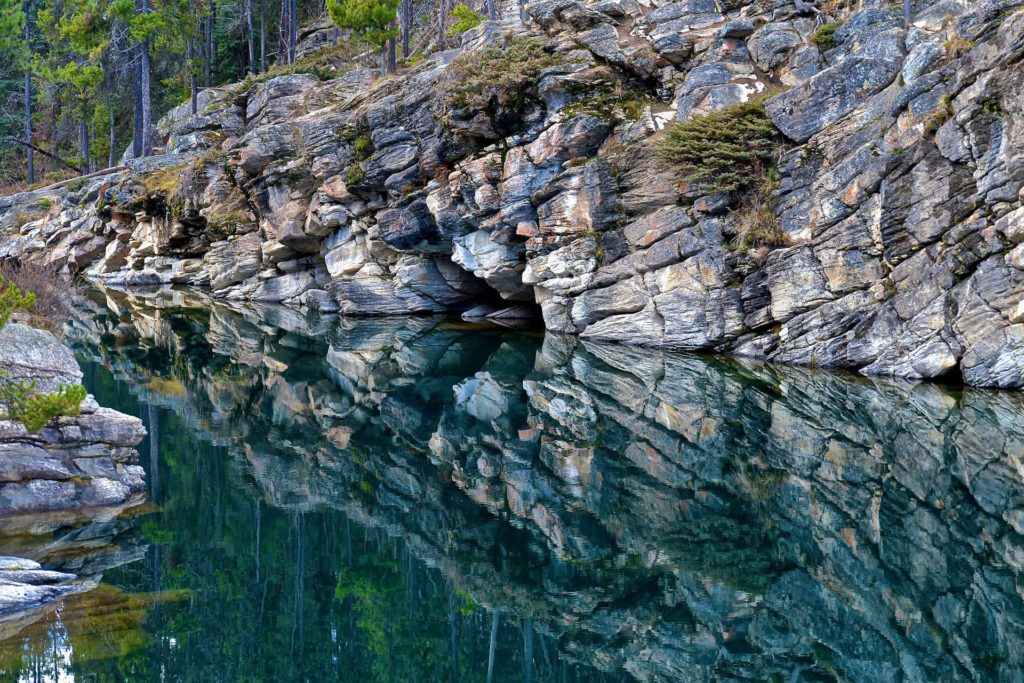 Horseshoe Lake Jasper National Park Alberta Canada
