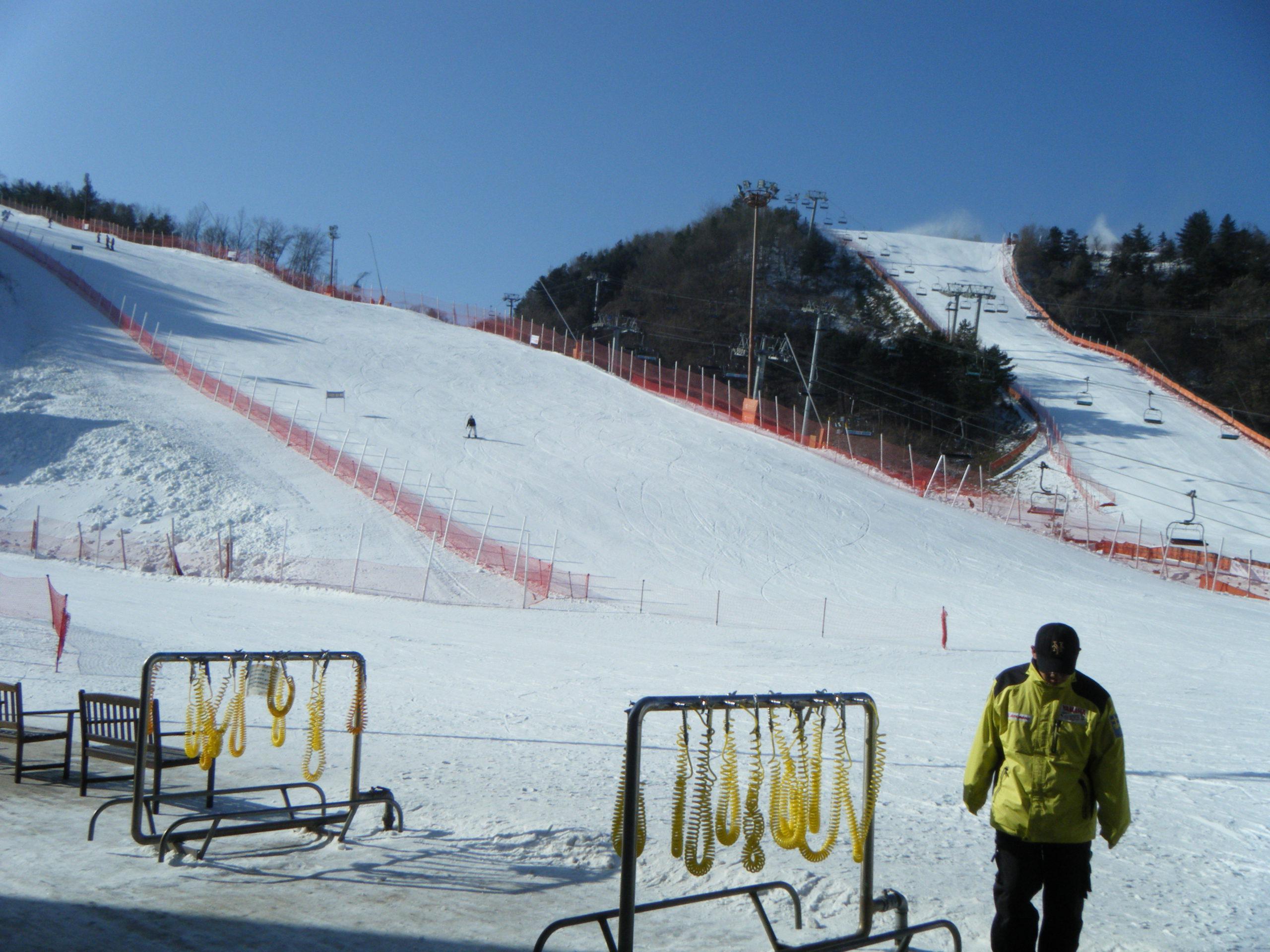 Korean ski resort