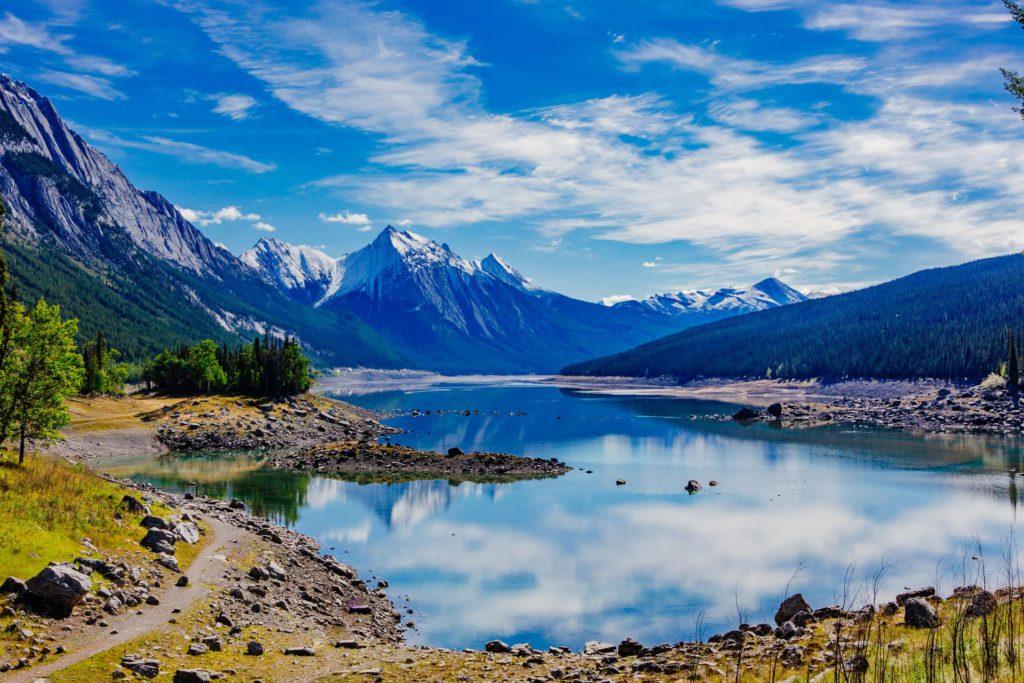 Medicine Lake Jasper National Park Alberta Canada