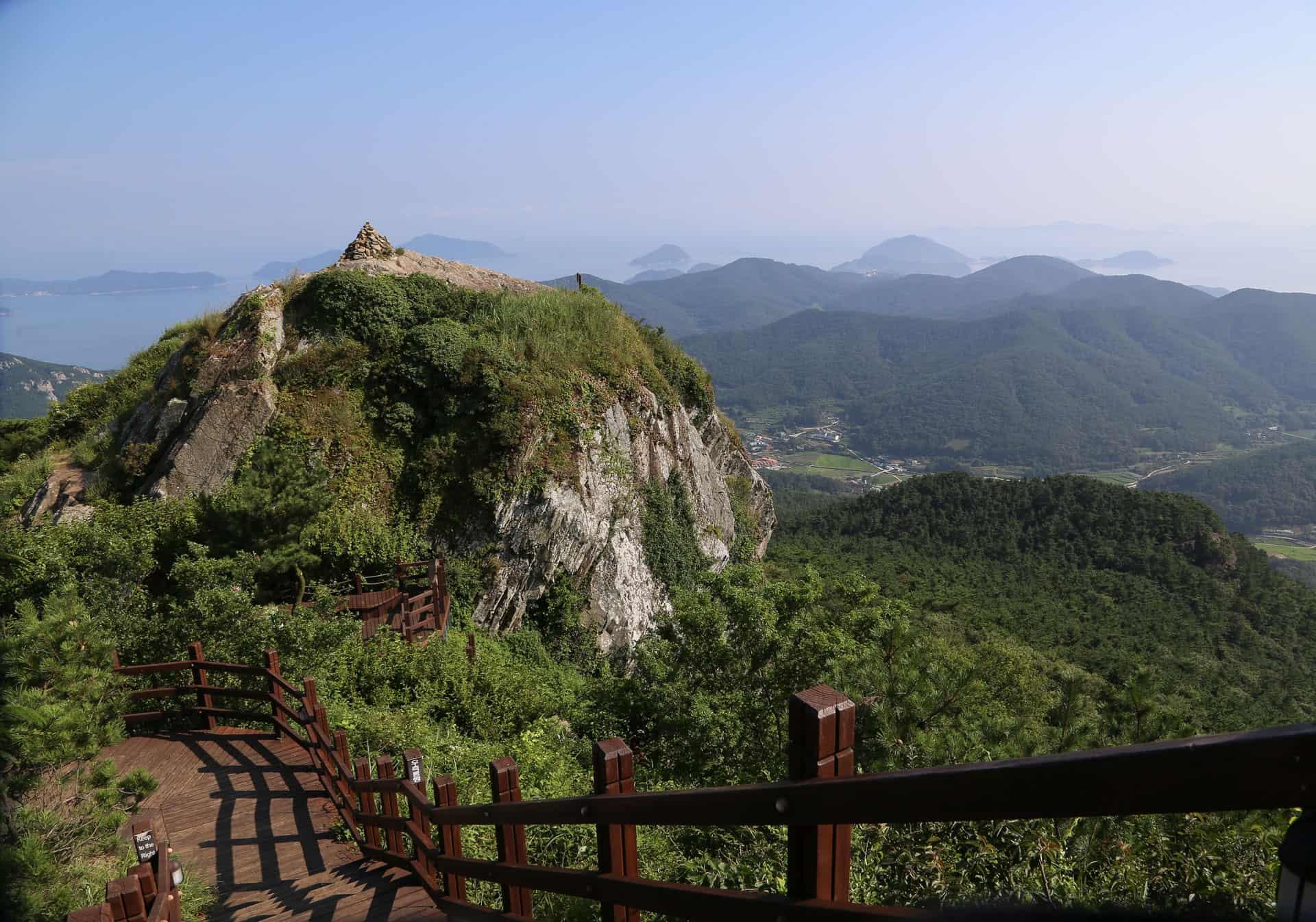 Mireuksan Mountain Tongyeong South Korea