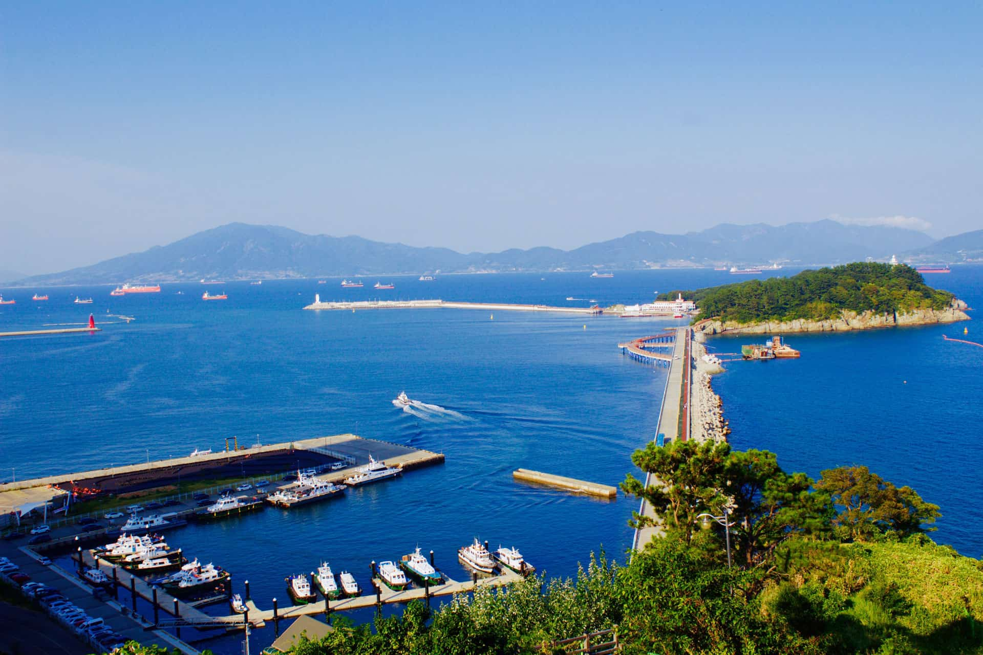 Odongdo Island Yeosu South Korea