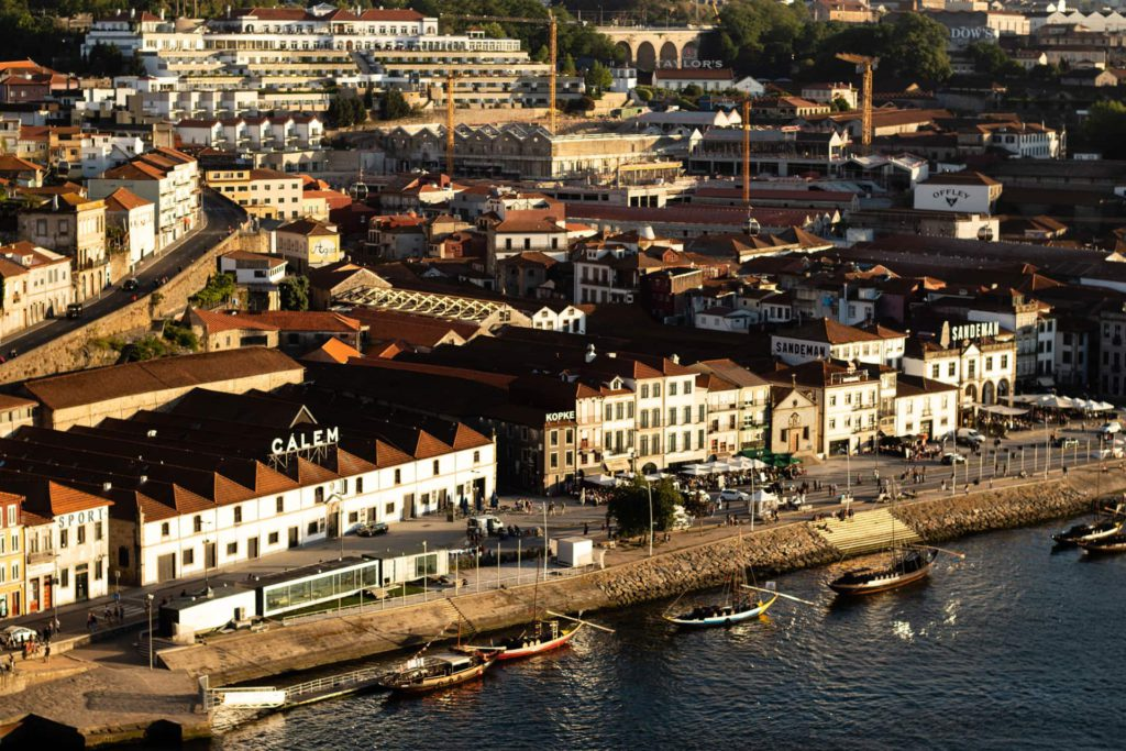 Ribeira de Gaia Porto Portugal