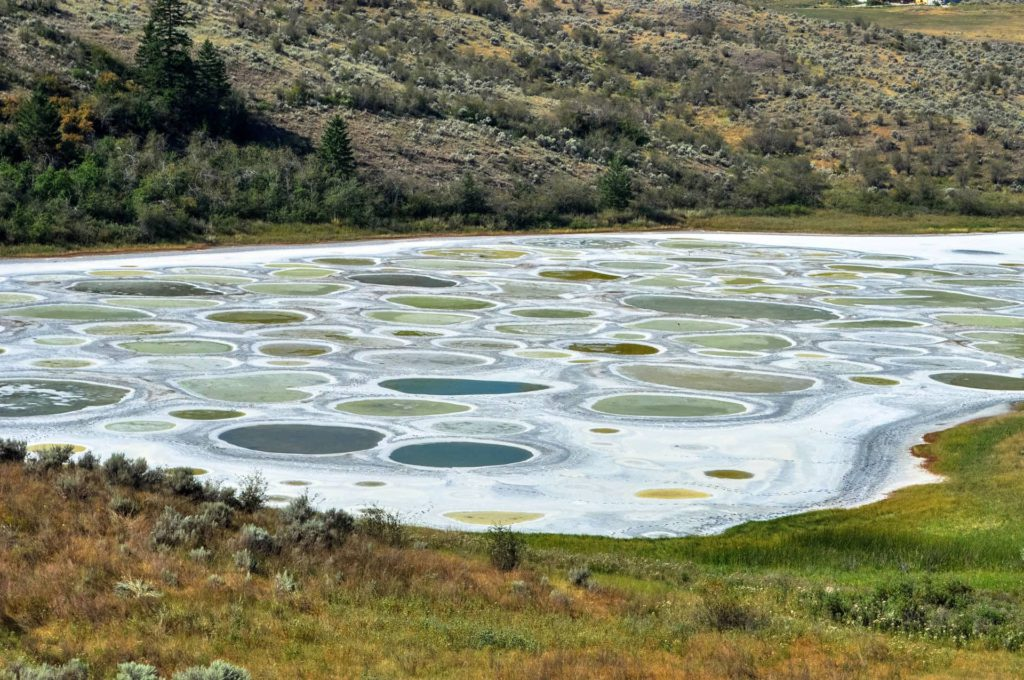 Spotted Lake British Columbia Canada
