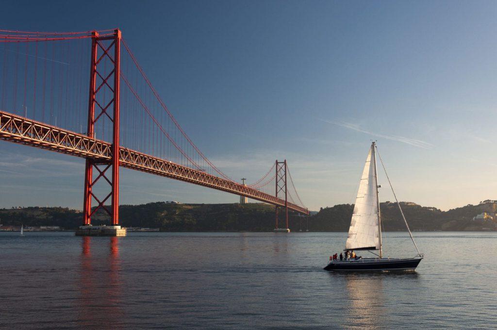 Yacht Ponte 25 de Abril Lisbon Portugal