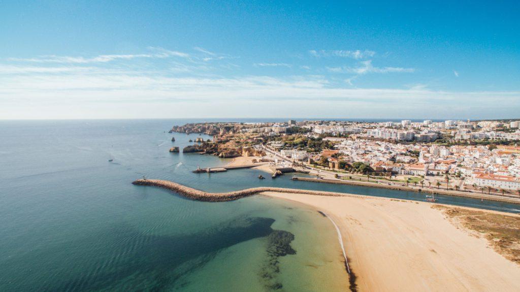 Meia Praia Lagos Algarve Porugal