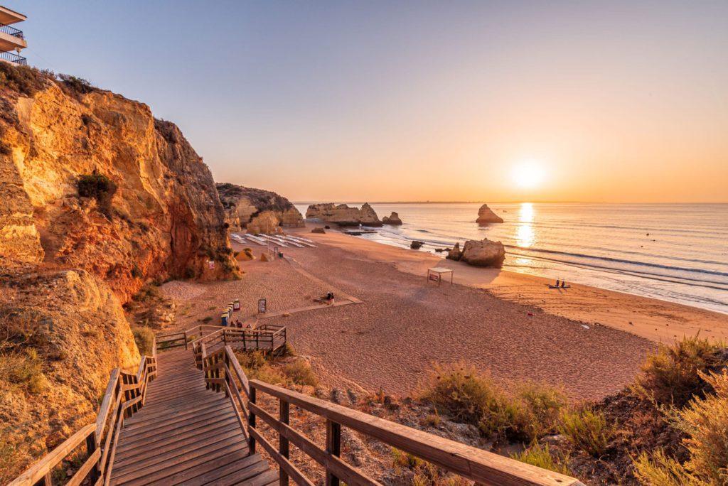 Praia Dona Ana Lagos Algarve Portugal