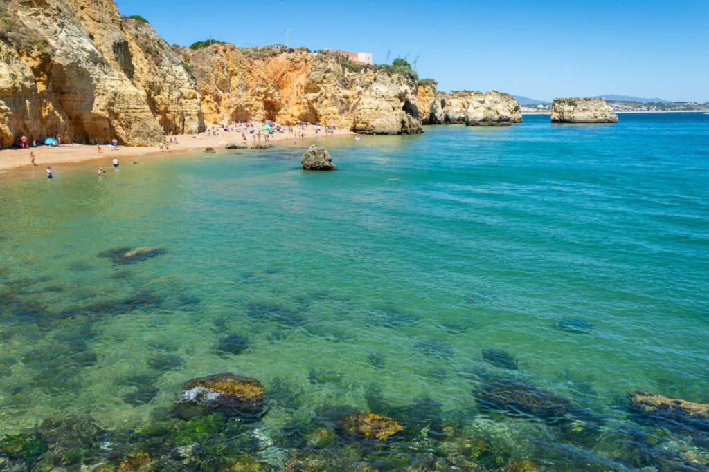 Praia do Pinhão Lagos Algarve Portugal