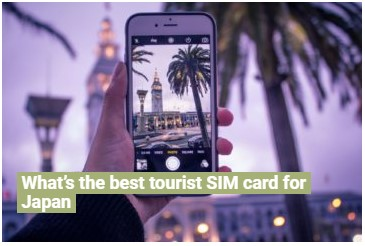 The best travel SIM card for Japan