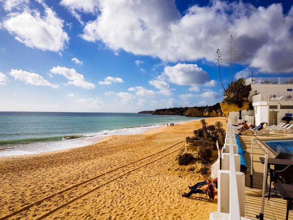 Armação de Pêra beach Algarve Portugal