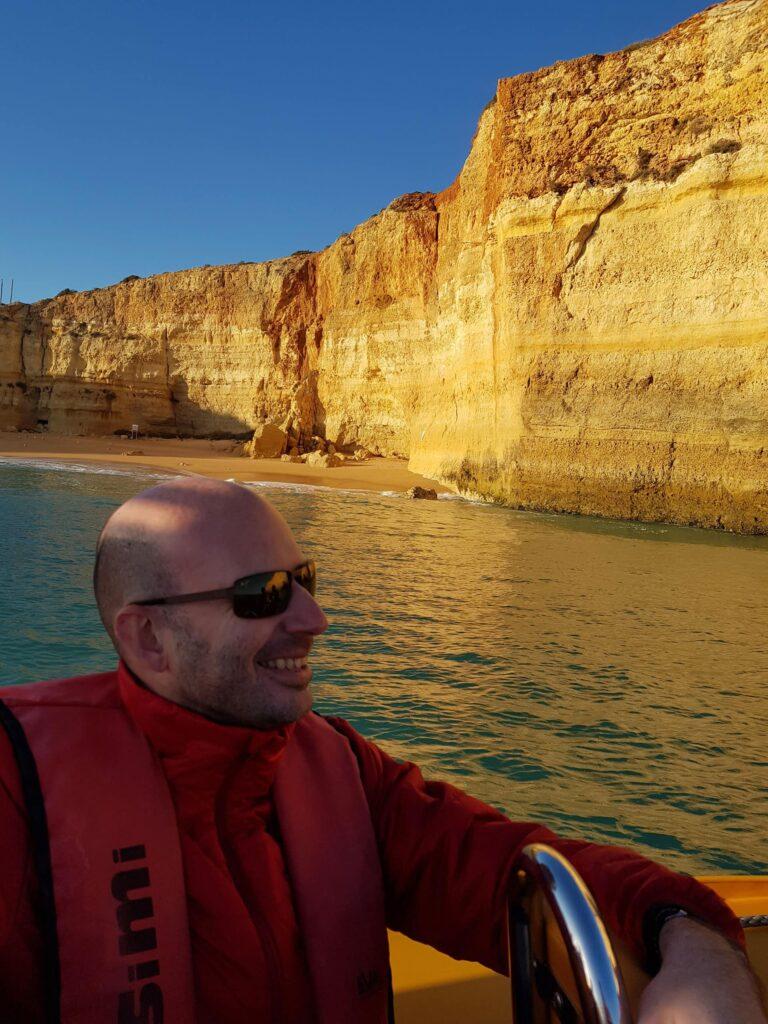 Boat tour Algarve Portugal
