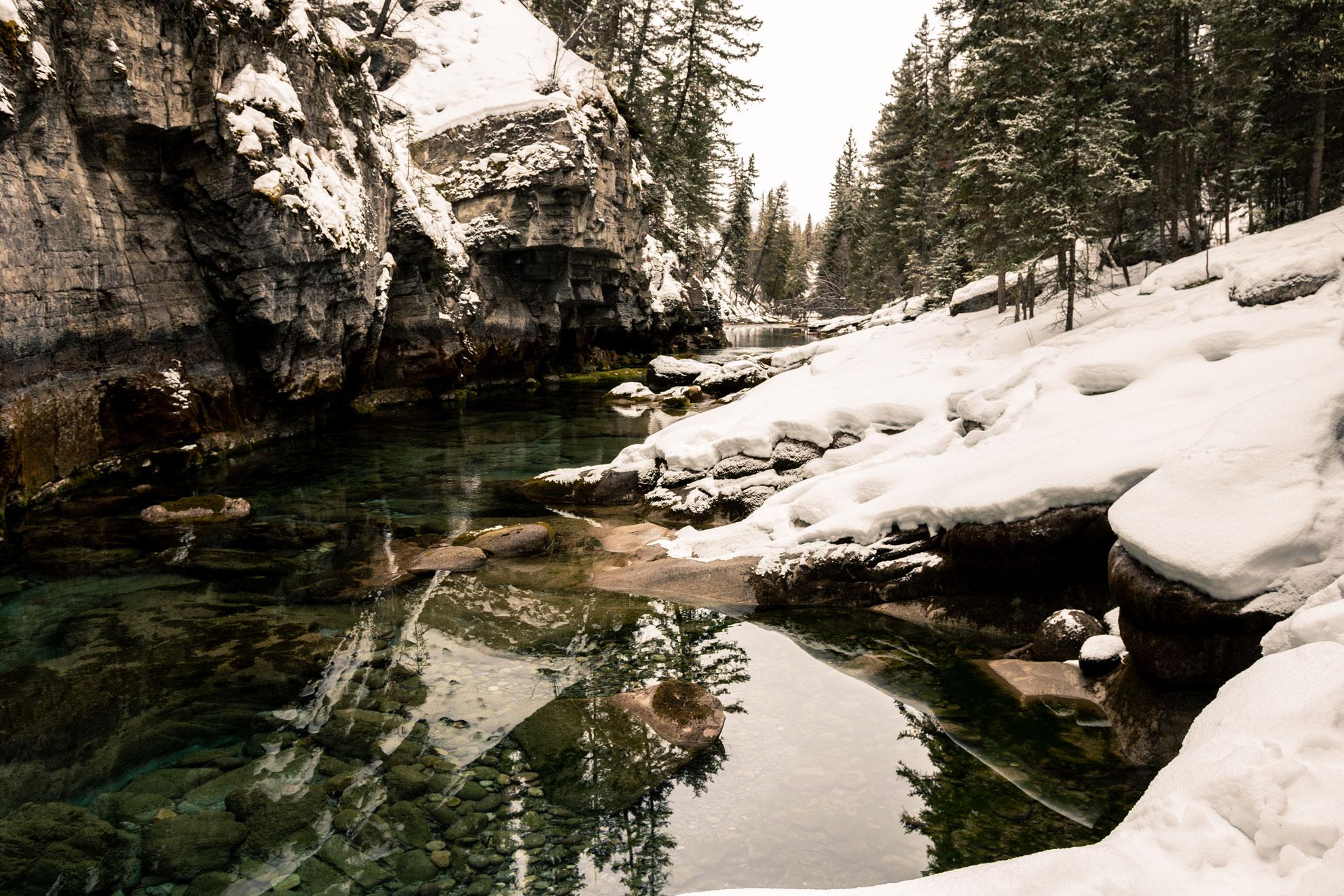 Maligne Canyon Jasper Alberta Canada