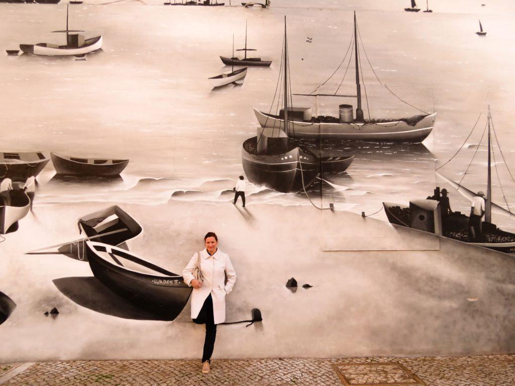 Murals Street art Olhão Algarve Portugal