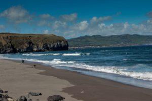 Praia De Santa Barbara São Miguel Azores Portugal