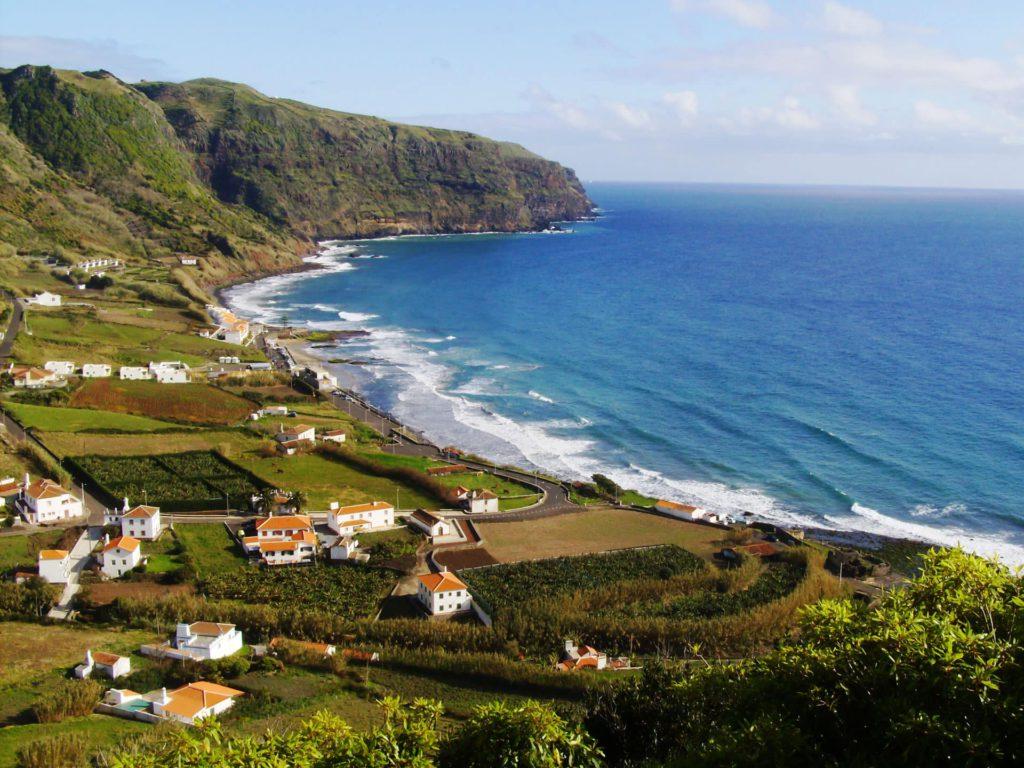 Praia Formosa Santa Maria Azores Portugal