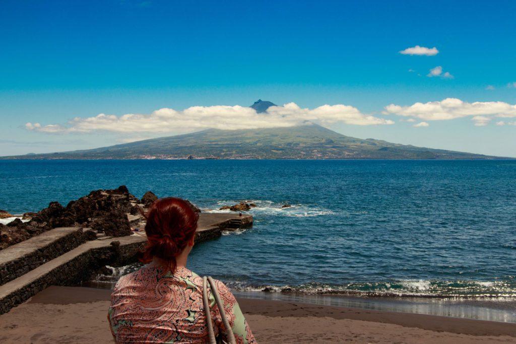 Praia do Almoxarife Horta Azores Portugal
