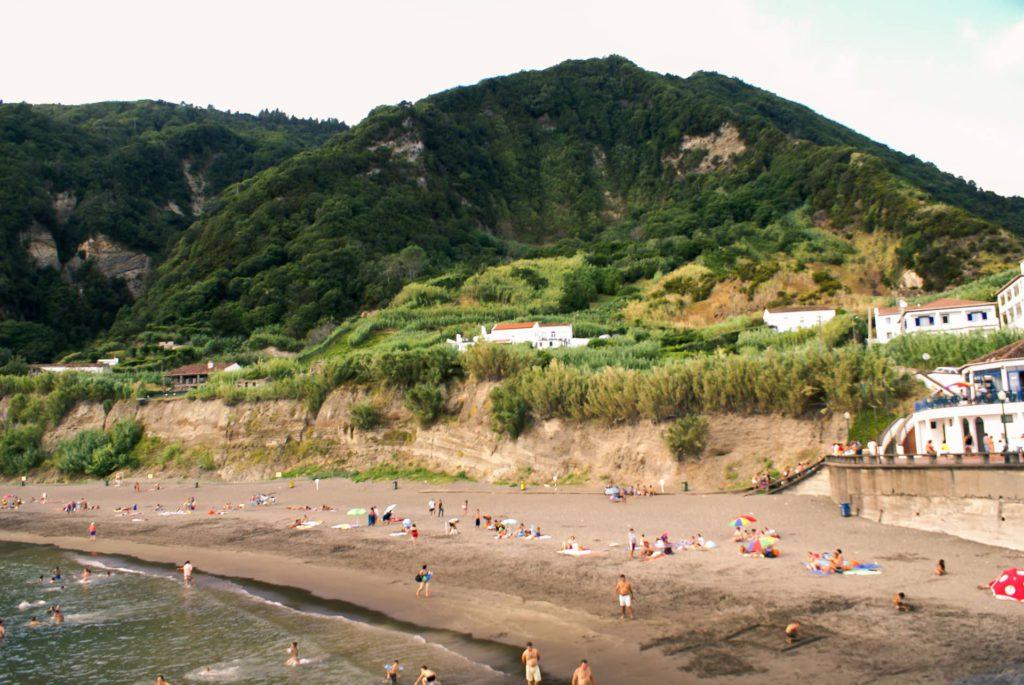 Praia do Fogo Ribeira Quente São Miguel Azores Portugal