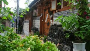 Typical Korean traditional house