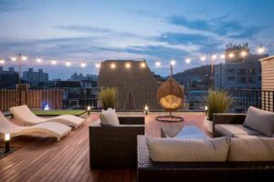 Amazing rooftop appartment in Hongdae