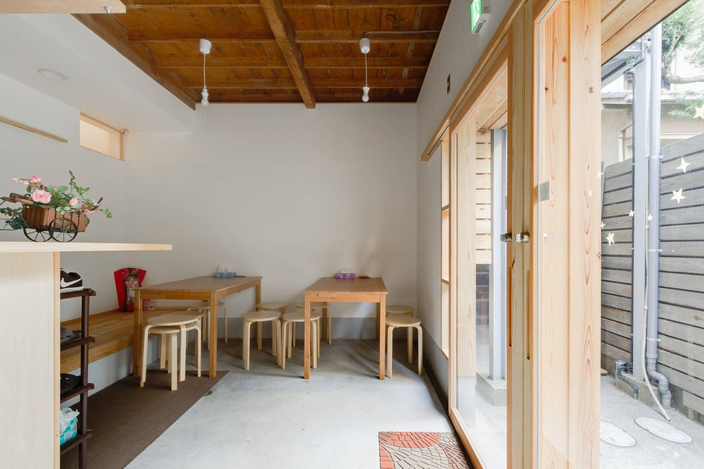 This Entire house hosted by Kaori is a good option for large families wanting to stay together in an Airbnb in Osaka
