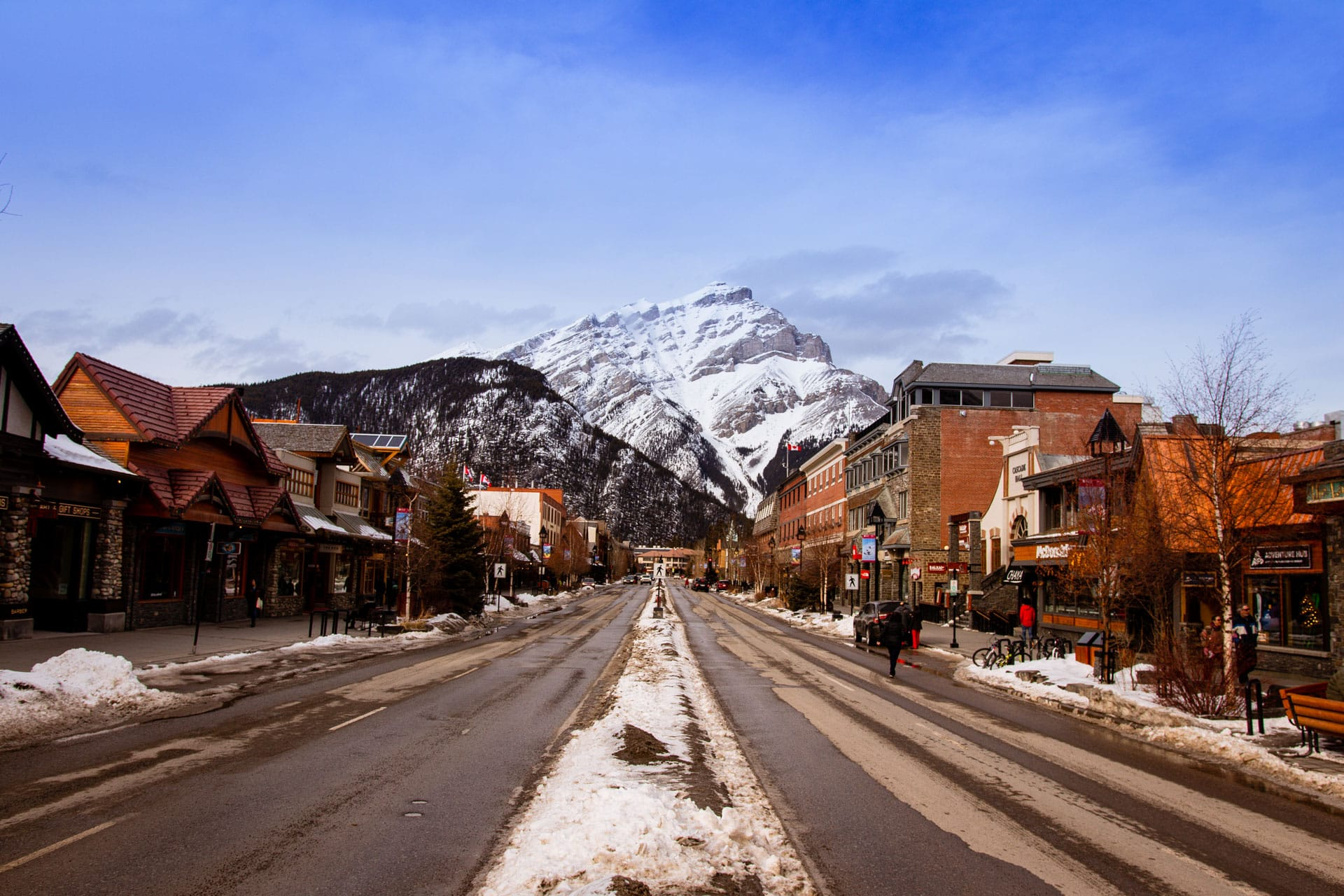 Banff is a good base for these winter activities