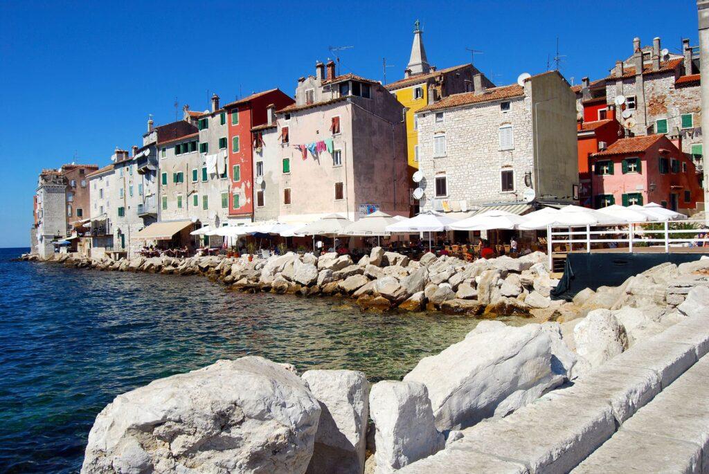 The coastal town of Rovinj in Croatia