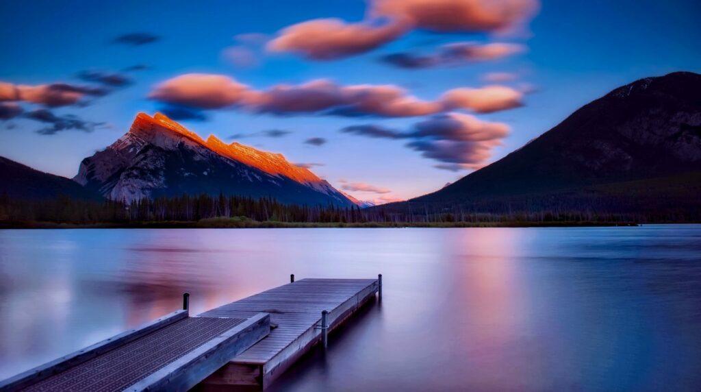 Sunset in Banff National Park