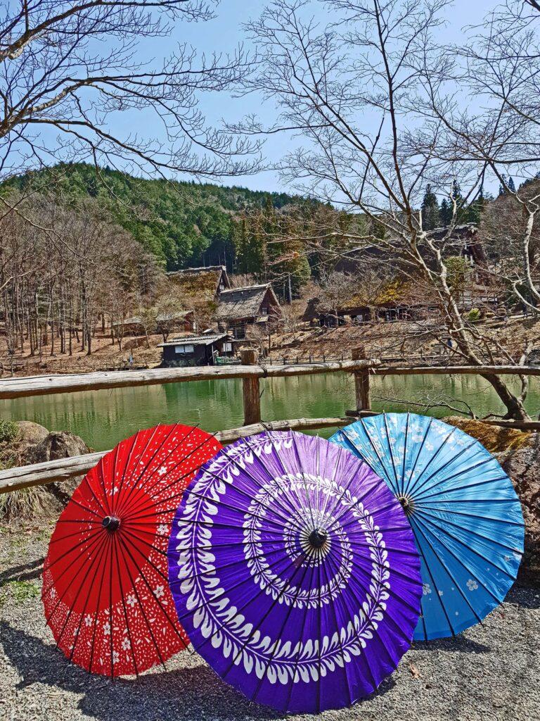 The HIda Folk Village in Takayama Japan