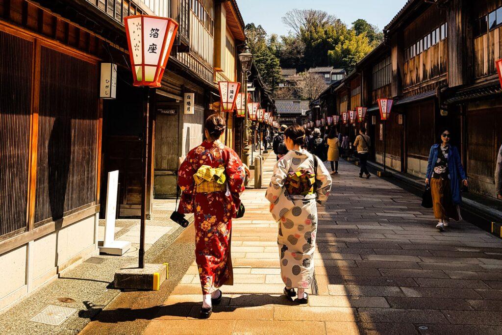 The Higashi Chaya district is a highlight of any Kanazawa itinerary