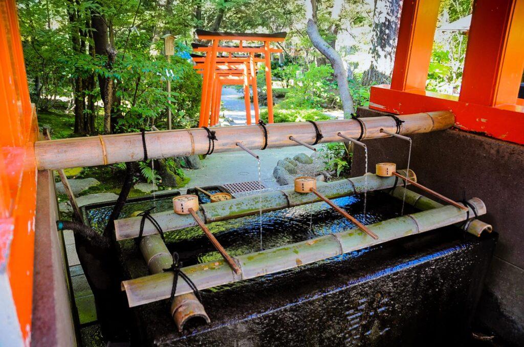 The Ozaki Shrine in Kanazawa Japan