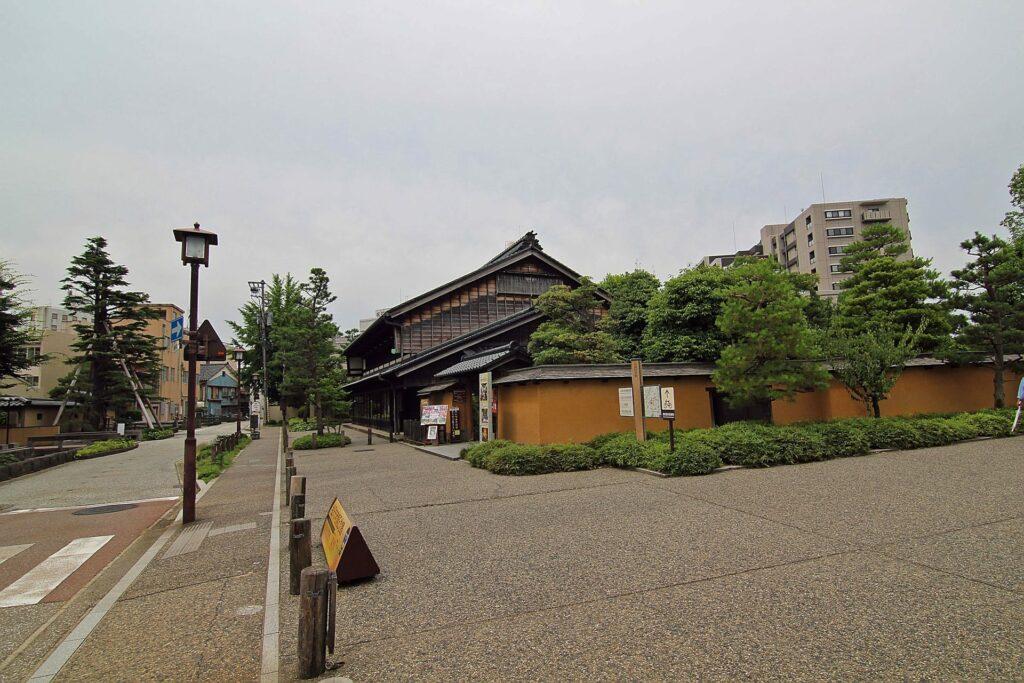The Kanazawa Shinise Memorial Hall in Kanazawa Japan