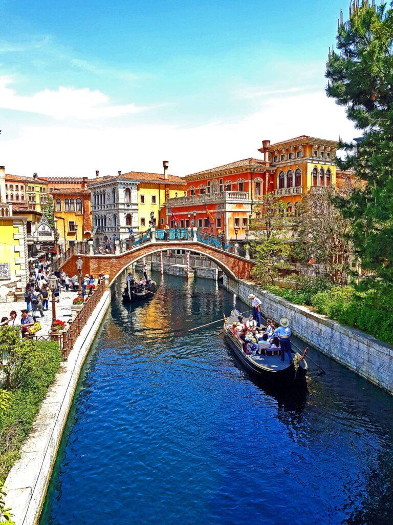 The Venice Canals in Tokyo DisneySea