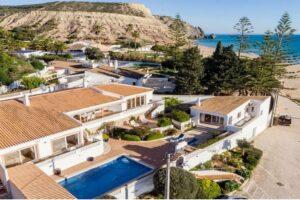 Beachfront villa Airbnb in Lagos, Portugal