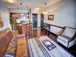 Cozy 1 bedroom is a cheap Airbnb in Canmore