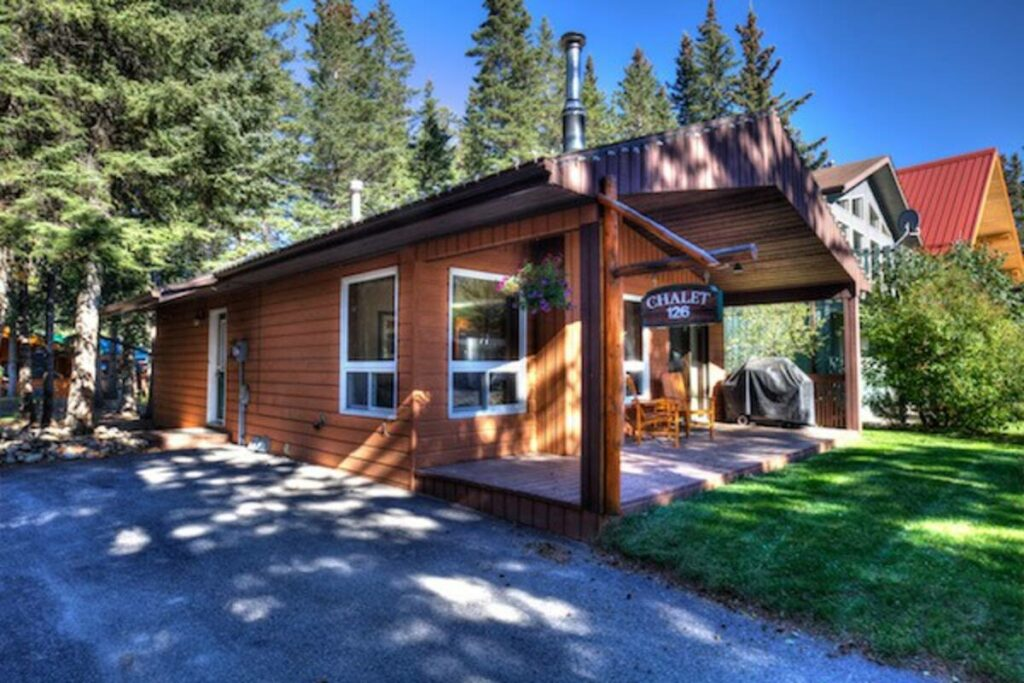 This is a great cabin near Jasper