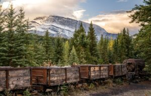 This short and easy hike in Banff takes you to the ghost town of bankhead