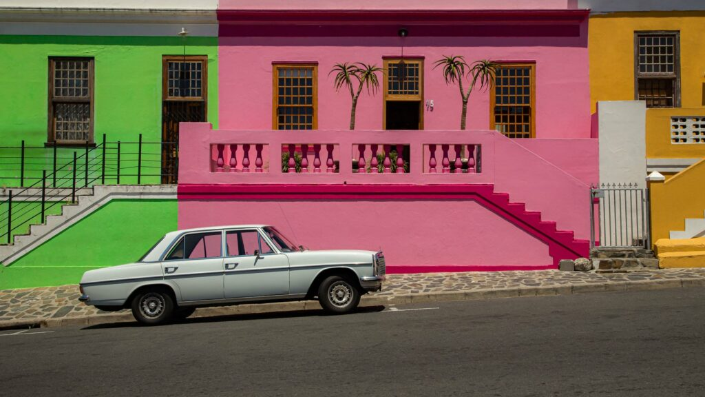 Colorful houses in Bo-Kaap