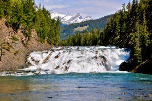 The Bow falls near Banff